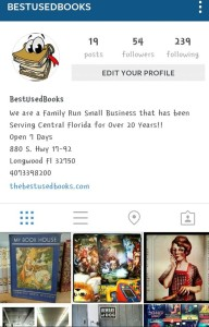 We're on Instagram!! https://www.instagram.com/bestusedbooks/